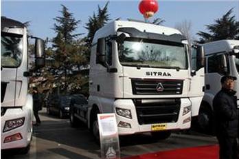 中国重汽 SITRAK C7H 390马力 4X2 牵引车 ZZ4186V361HC1