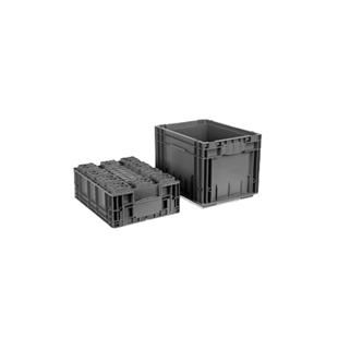 大森 KLE系列可堆物流周转箱 KLT4030/14平底