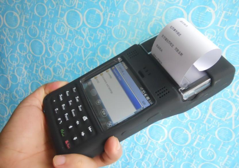 集成热敏打印的手持PDA终端POS机