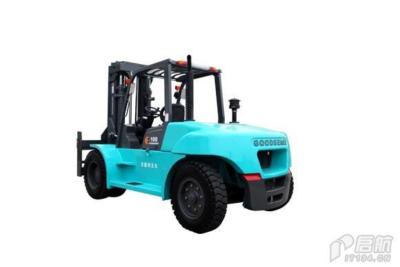 10T内燃平衡重式柴油叉车