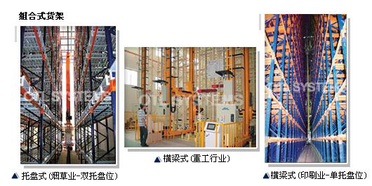 立柱和横梁组合式货架