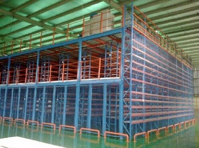 南京科安解密高密度仓储货架技术