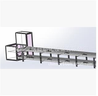 非标三维设计制造自动化组装流水线输送设备