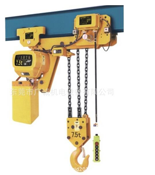 工霸超低空3T*3M环链电动葫芦/链条电动葫芦/东莞广诚电动葫芦