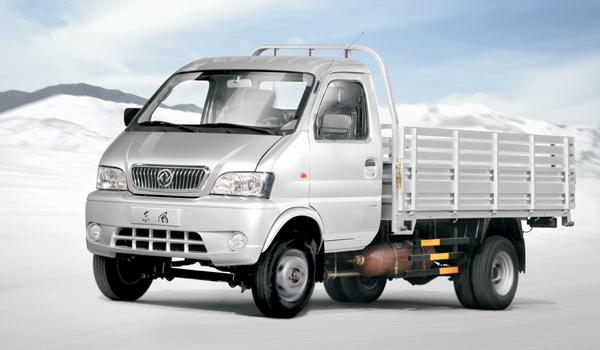 双燃料单排载货车