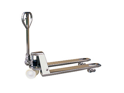 防腐防锈不锈钢手动冷库专用单轮双轮搬运车