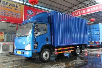 青岛解放 J6F 150马力 4.21米单排厢式轻卡(重载版)