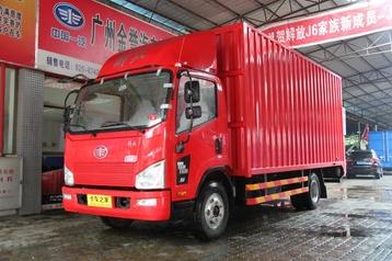 青岛解放 J6F 150马力 5.21米单排厢式轻卡