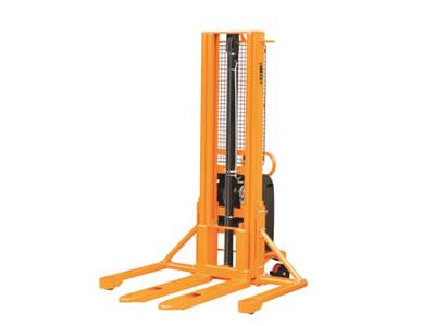 专业定制优客力宽支腿半电动堆高车MW1029