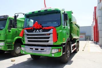 江淮 格尔发K3系列重卡 336马力 6X4 自卸车(U型斗新型渣土车)
