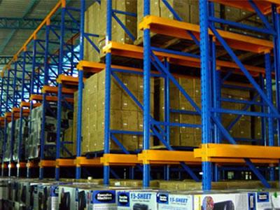 民众货架厂生产供应全规格各类型通廊式货架