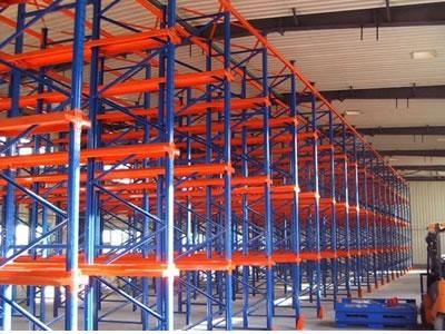 得友鑫生产专用于食品冷库通廊式货架生产订做