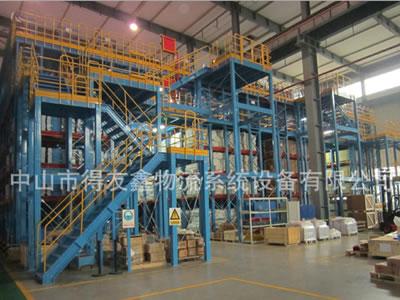 专业货架厂家为各企业定制可满足实际仓库阁楼货架