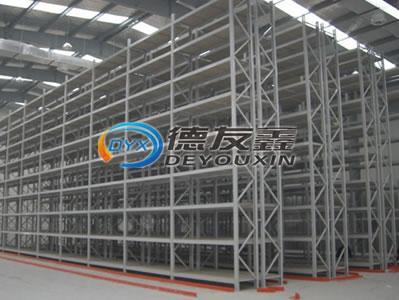 中山市货架厂供应可定做窄巷式货架