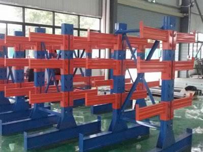 专业生产定做悬臂式货架|悬臂式货架方案设计