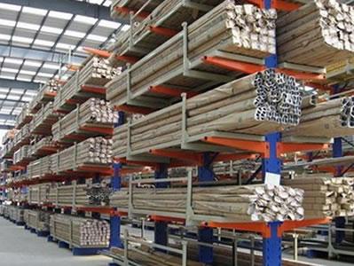 悬臂式货架生产定做_管状货物存取的最佳选择