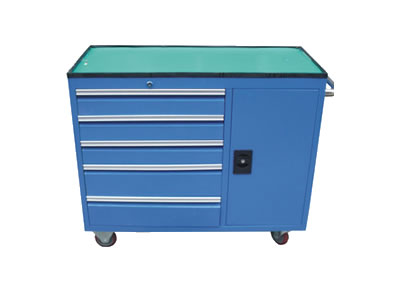 【厂家直销】工具柜 五抽一柜车间移动工具柜