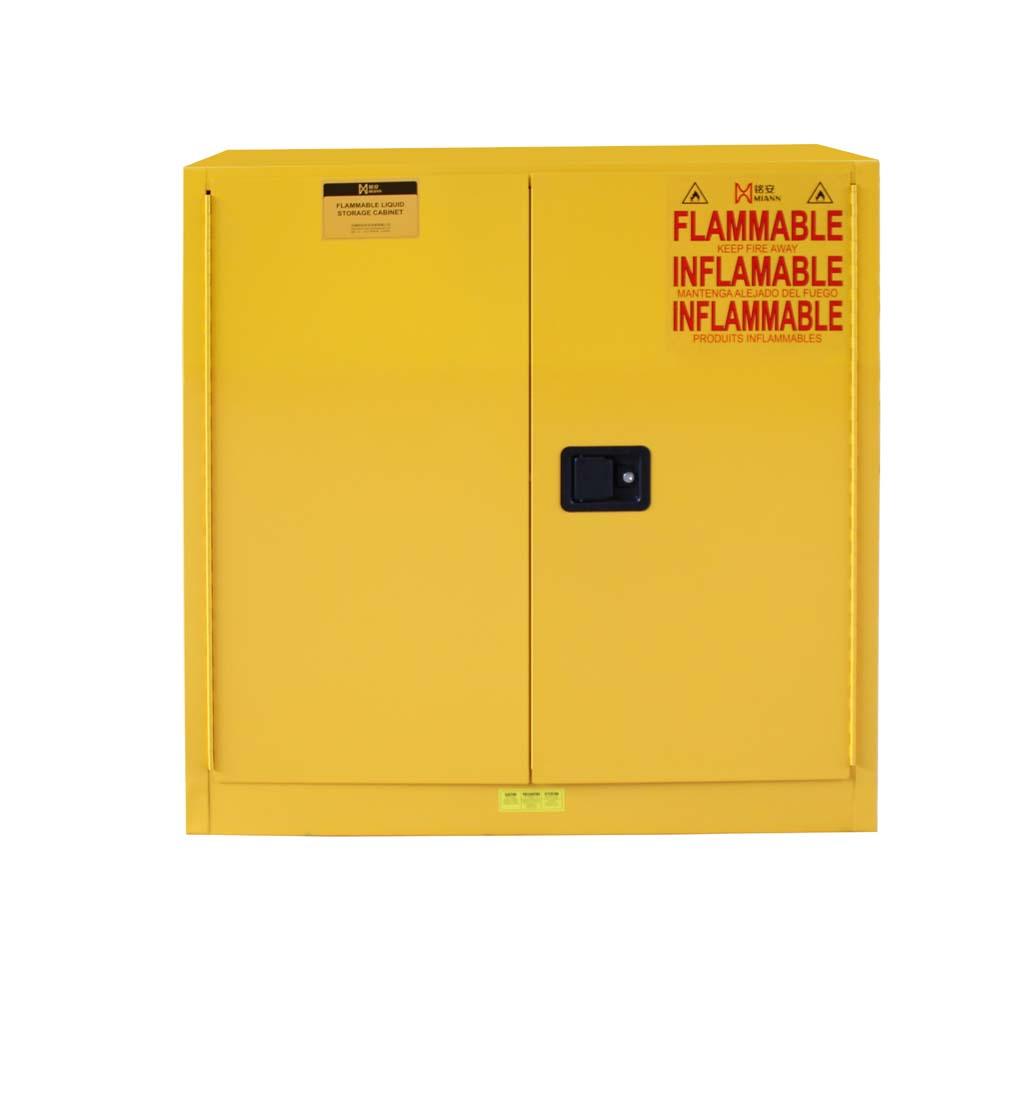 厂家直销 30加仑 阳江市气瓶储存柜 危险气瓶安全储存柜