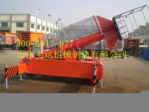 单梯双梯防转型套缸式液压升降平台