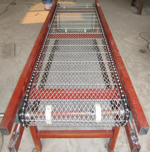 输送线 移载机 移载输送设备 不锈钢网链输送机