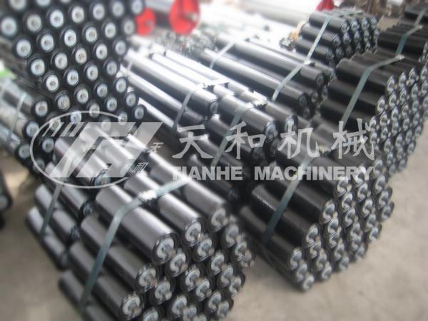 供应 矿山输送机托辊 槽型托辊 浙江托辊 TD75型 托辊生产厂家
