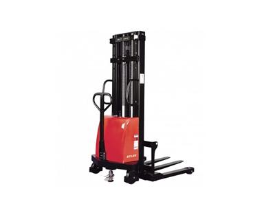 宽支腿半电动堆高车YBG10-25W