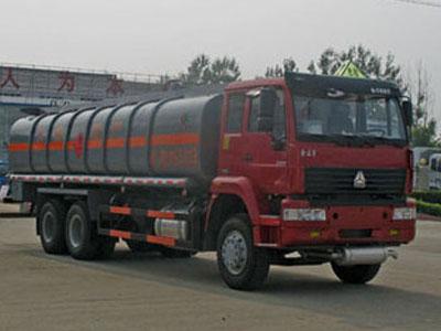 中国重汽 金王子 266马力 6X4 加油车(湖北楚胜牌)