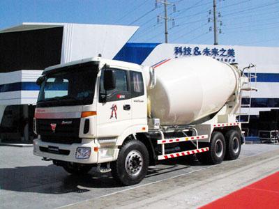 福田 欧曼 336马力 6X4 混凝土搅拌车