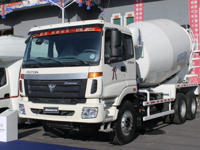 福田 欧曼 336马力 8X4 混凝土搅拌车