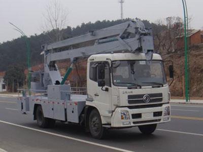 东风 天锦 180马力 4X2 高空作业车(湖北程力-程力威牌)