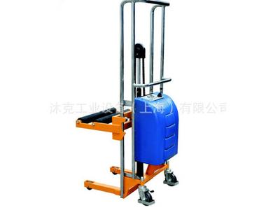 上海品牌 电动圆形物料搬运车 半电动圆形物料堆高车