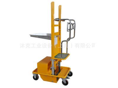 上海品牌 电动载人取货车 电动高空取物车 升降平台车