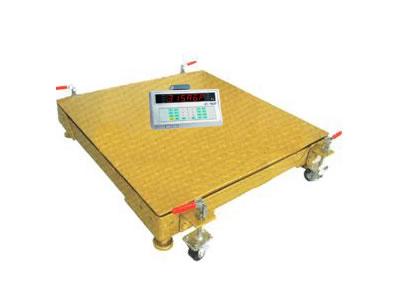 移动式电子地磅(可移动地磅秤)