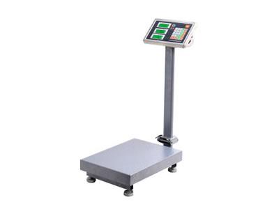 厂家生产 多功能折叠小型电子台秤 300KG水果防水电子计价台秤