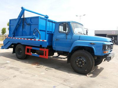 东风140摆臂式垃圾车
