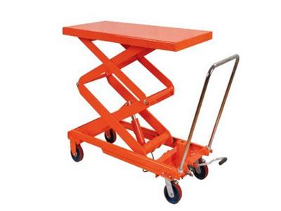 供应700kg手动液压平台车 物流搬运车