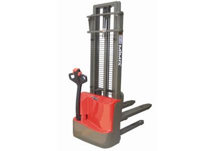 简易电动叉车 步行式电动堆高车 电动堆高机 步行式堆高搬运车