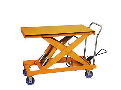 升降平台车 小型液压升降平台 移动式液压平台车 手推平台车