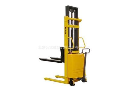 中美合资品牌手推电升堆高车/半电动堆高机/半自动堆高车