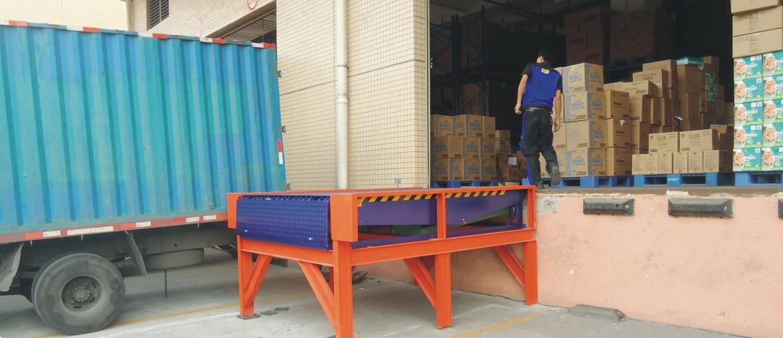 厂家直销凯卓立气袋式高度调节板/卸货平台/固定登车桥