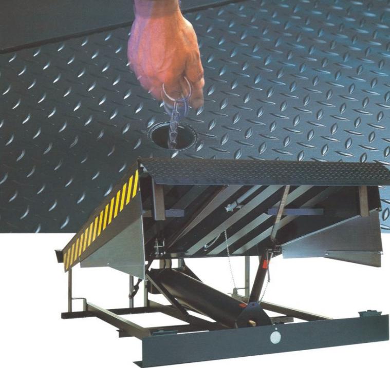 厂家直销凯卓立机械式高度调节板/卸货平台/固定登车桥