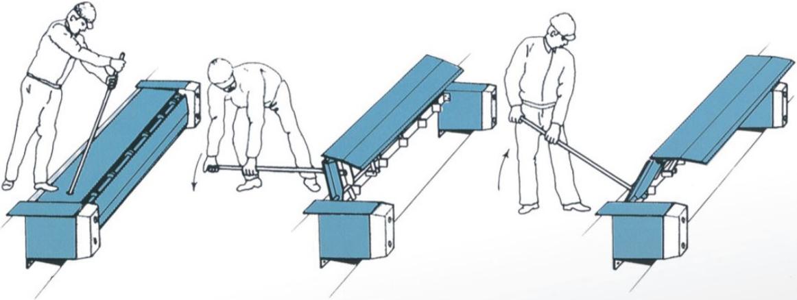 厂家直销凯卓立台边式高度调节板/卸货平台/固定登车桥