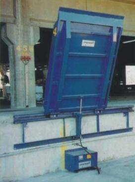 厂家直销凯卓立电动上翻式高度调节板/卸货平台/固定登车桥